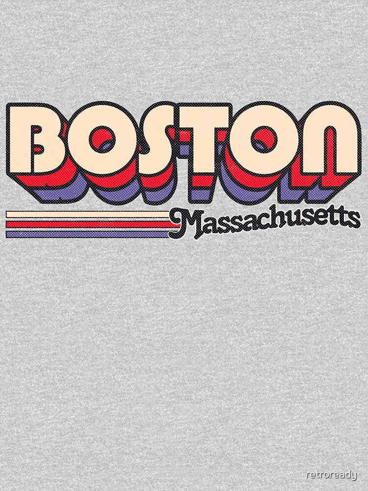 Boston, MA | Stadt Streifen von retroready