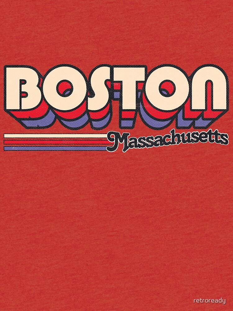 Boston, MA | Rayas de la ciudad de retroready