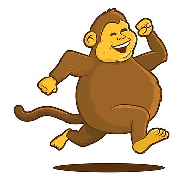 Chunky Monkey by graphicgeoff