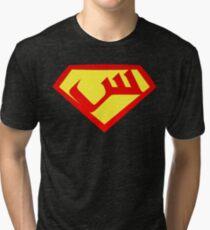 """Seen"" Shield Tri-blend T-Shirt"