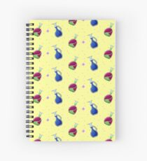 Rose potion and potion of life Spiral Notebook