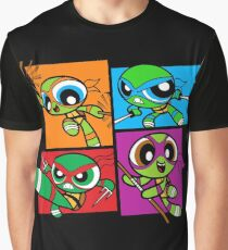 PowerPuff Turtles - POP Graphic T-Shirt
