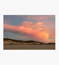 Cable Beach Storm Sunset Photographic Print