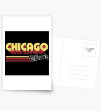 Chicago, IL | City Stripes Postcards