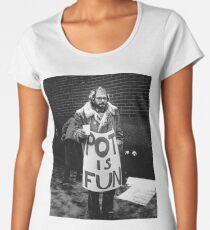 Ginsberg - Pot is Fun Women's Premium T-Shirt