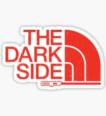 The Dark Side logo Sticker