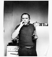 Bukowski Smokes Poster