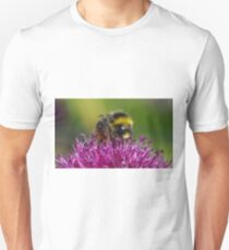 Bumble Bee On Alium Flower T-Shirt