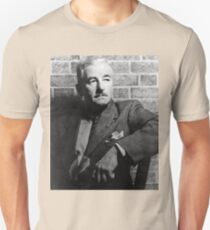 William Faulkner calmly looking at something or nothing at all T-Shirt