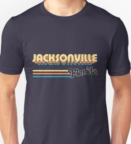 Jacksonville, FL   City Stripes T-Shirt