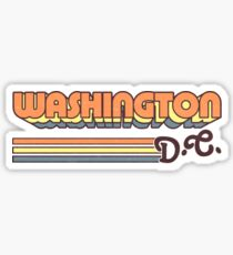 Washington, DC | City Stripes Sticker