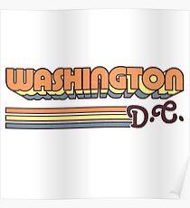 Washington, DC | City Stripes Poster