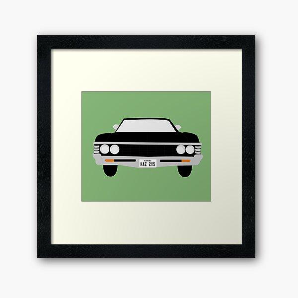 """""""Baby"""" - Green Framed Art Print"""