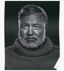 Ernest Hemingway Poster