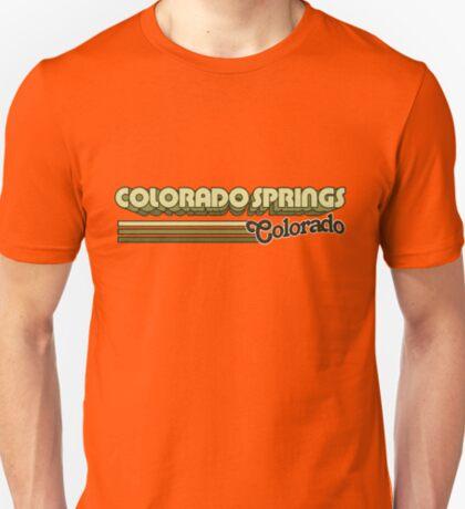 Colorado Springs, CO   City Stripes T-Shirt