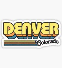 Denver, CO | City Stripes Sticker