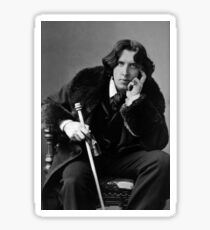 The Picture of Oscar Wilde Sticker