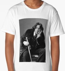 The Picture of Oscar Wilde Long T-Shirt
