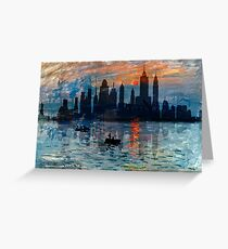 New York Skyline 11 Greeting Card