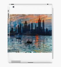 New York Skyline 11 iPad Case/Skin