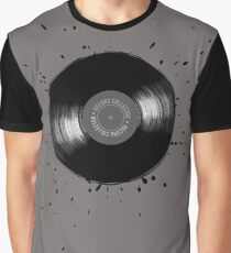 Vinyl collector retro music turntable record player Graphic T-Shirt