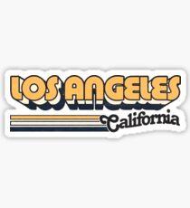 Pegatina Los Angeles, CA | Rayas de la ciudad