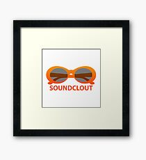 SoundClout - Clout goggles Framed Print