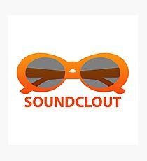 SoundClout - Clout goggles Photographic Print