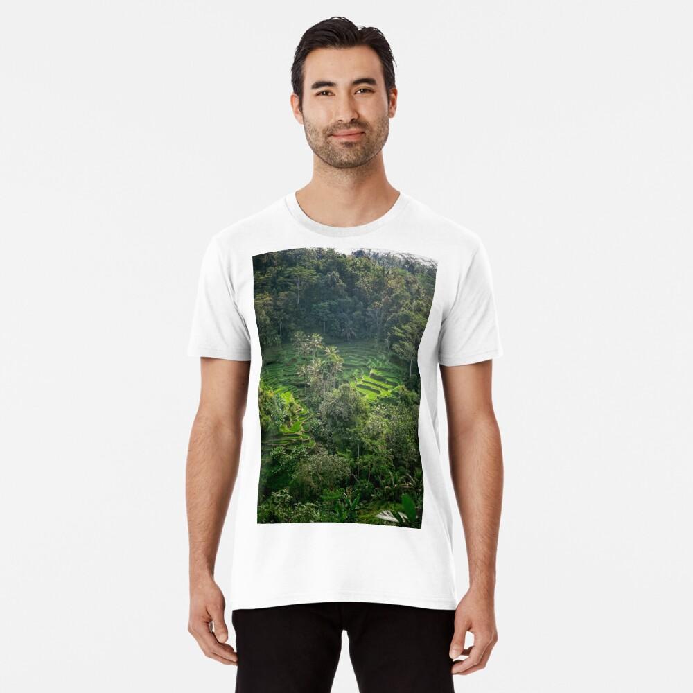 Terraza de arroz de Bali Camiseta premium