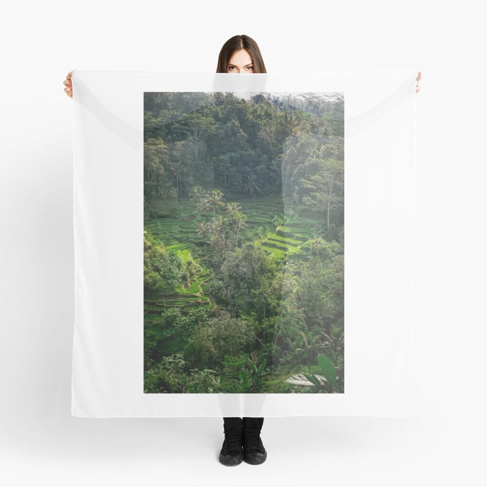 Terraza de arroz de Bali Pañuelo