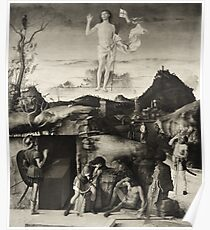 Resurrection Of Christ Giovanni Bellini Poster