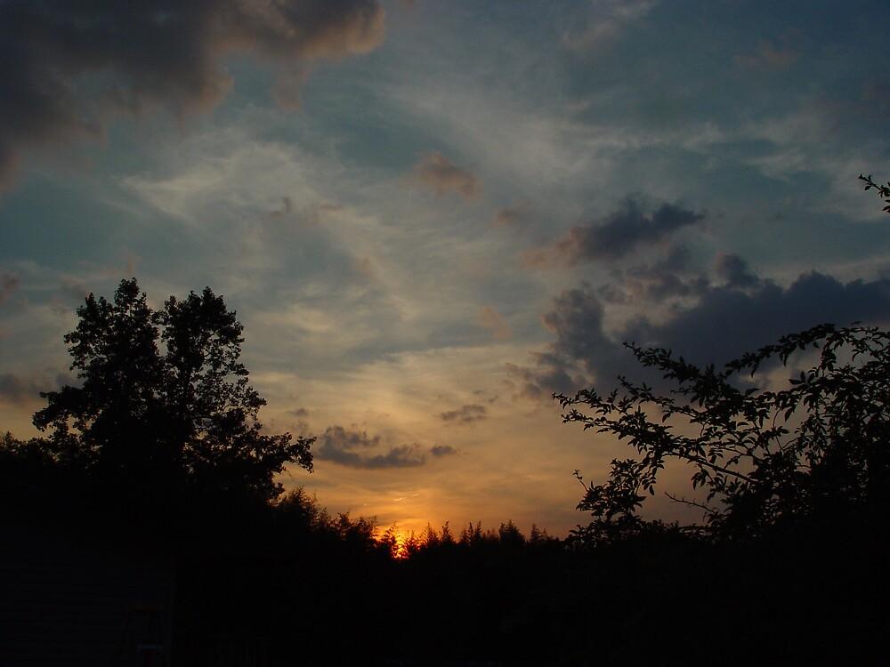 sunset by roxxc