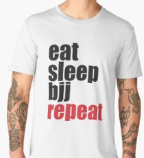 Brazilian Jiu Jitsu (BJJ) Men's Premium T-Shirt