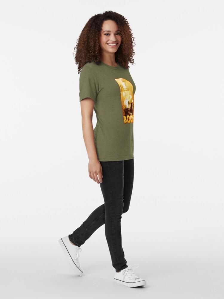 Alternate view of B for Books Tri-blend T-Shirt