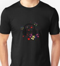 I love music (patterned design) T-Shirt