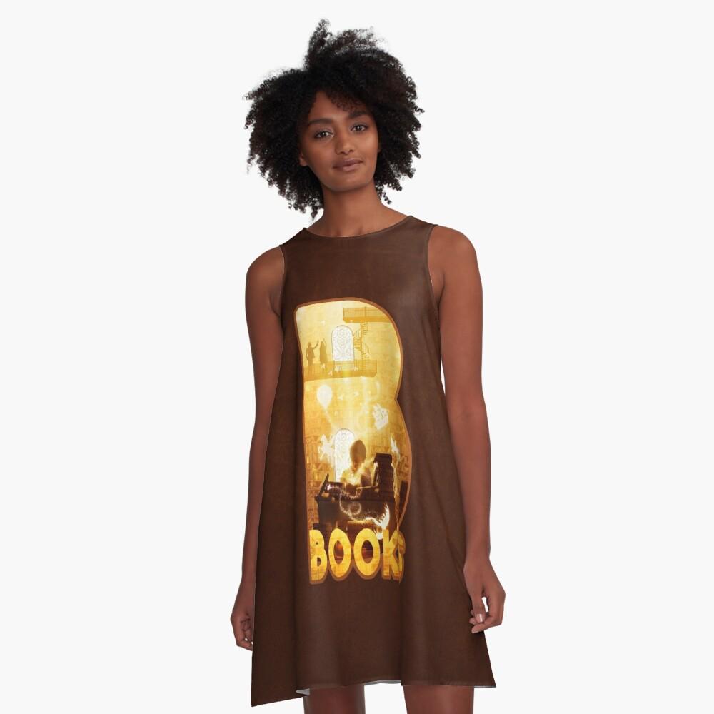 B for Books A-Line Dress