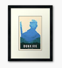 The Battle of Dunkirk Green Framed Print