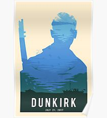 The Battle of Dunkirk Green Poster