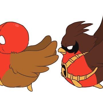 Go!Robins! - Robins on the Go! by yolinart