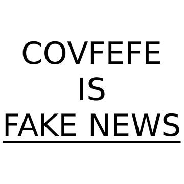 Covfefe is FAKE NEWS #resistance by nflstreet
