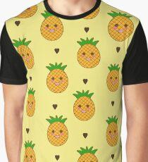 Chibi Pineapples Graphic T-Shirt