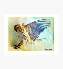 Flight I (All proceeds donated to Cancer Research) (9743 views as of 061518) Art Print