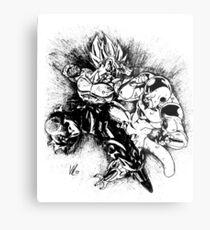 Fight Metal Print