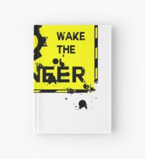 Do Not Wake The Engineer Art Design Hardcover Journal
