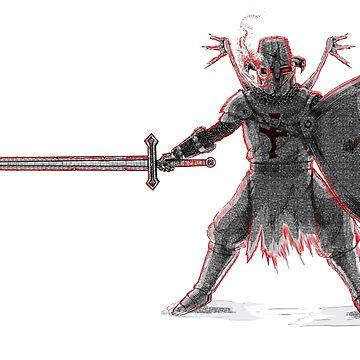 Cursed Knight Templar by Skeletal-Raven