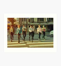 BTS THE MOST BEAUTIFUL MOMENT IN LIFE PT 2 Art Print