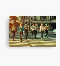 BTS THE MOST BEAUTIFUL MOMENT IN LIFE PT 2 Canvas Print
