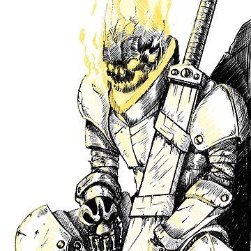 Skeletal Knight by Skeletal-Raven