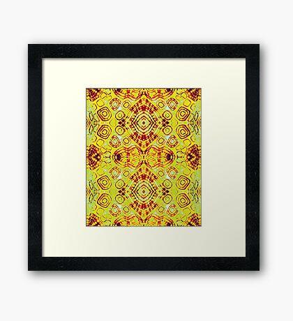 Zen- I Am Sun-Centered Framed Print