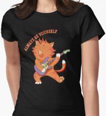 Funny Kitten Dabbing Serenade Always Be Yourself T-Shirt